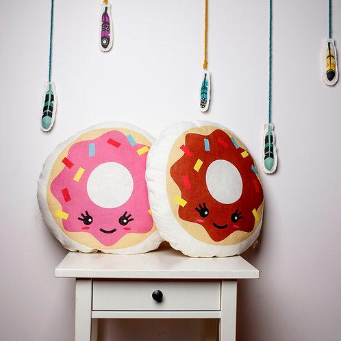 Doughnut pillow, crochet donut by MINICAMP