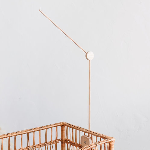 Baby Crib Wooden Mobile Arm