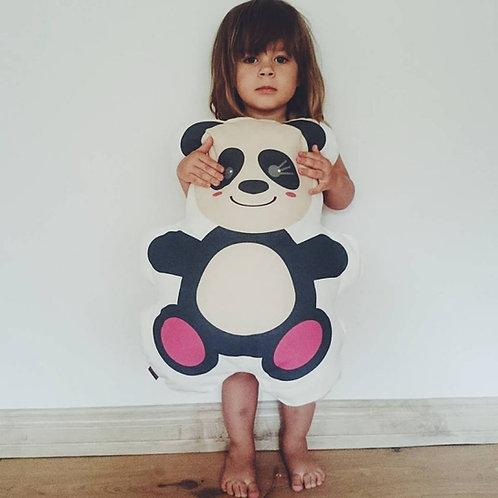 Toddler pillow Panda from 100% Linen by MINICAMP