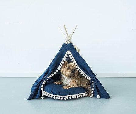 Blue Dog Teepee Bed