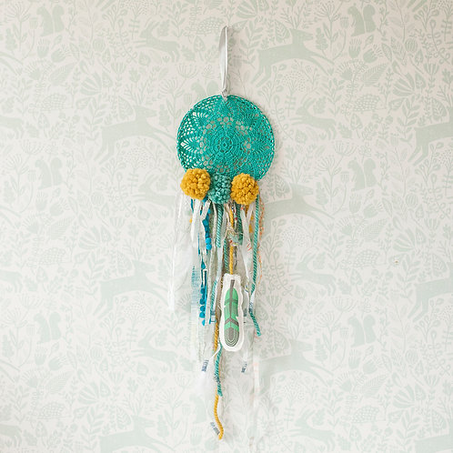 Crochet dreamcatcher, boho dreamcatcher by MINICAMP