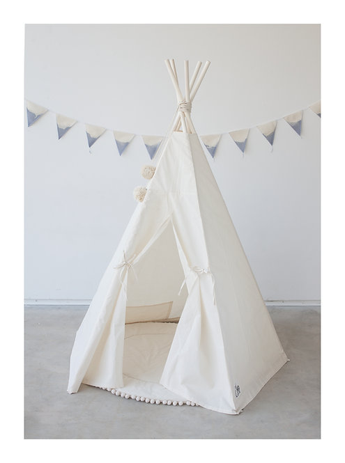 Tipi Tent for Kids in Plain Style