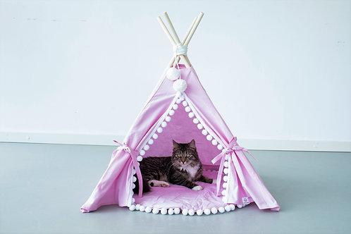 Pink Cat Teepee