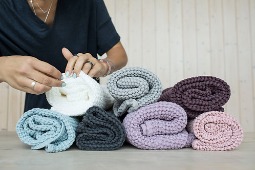 Linen Baby Blanket for Baby Swaddling & Baby Bath