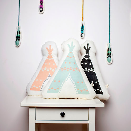 Decorative pillow, teepee pillows by MINICAMP