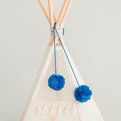 Boho Pom Poms Accessory for Teepee
