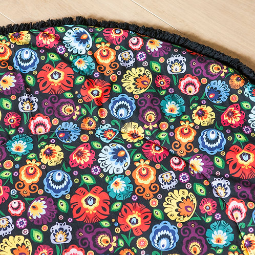 Floral Baby Play Mat, Toddler Play Mat, Baby Blanket