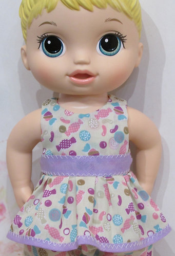"""12"""" Baby Alive doll: Sweet Candy Top and Trousers"""