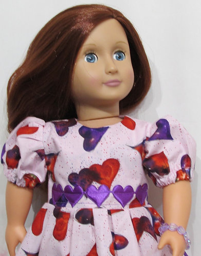 American Girl, Our Generation: Valentine Hearts Dress Set