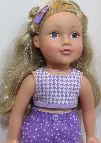 DesignaFriend, New Sindy doll: Lavender Mix Beach Set