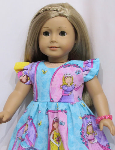 American Girl, Our Generation:  Princesses Party Dress set