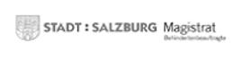 Logo City Salzburg for handicapped peopl