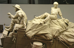Wagon figures