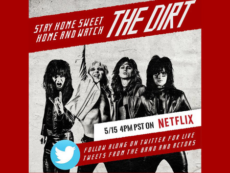 'Watch Party' do Mötley Crüe ocorre nesta sexta (15)