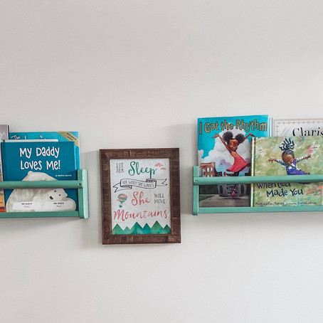 A Round up of Alexis's Favorite Books! (and great ways to keep them organized)