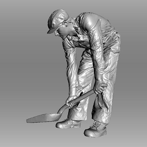 AIM-F06-048 (M) O Scale Fireman