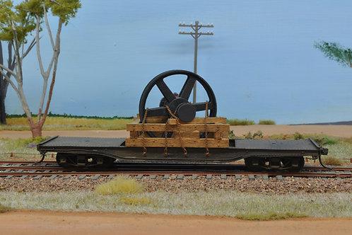 3D Printed HO Scale Gear Wheel Load.