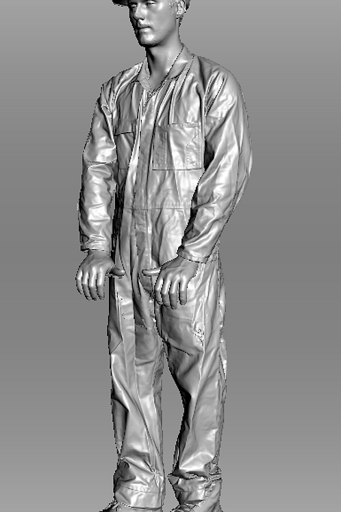 AIM-F08-048 O Scale Fireman