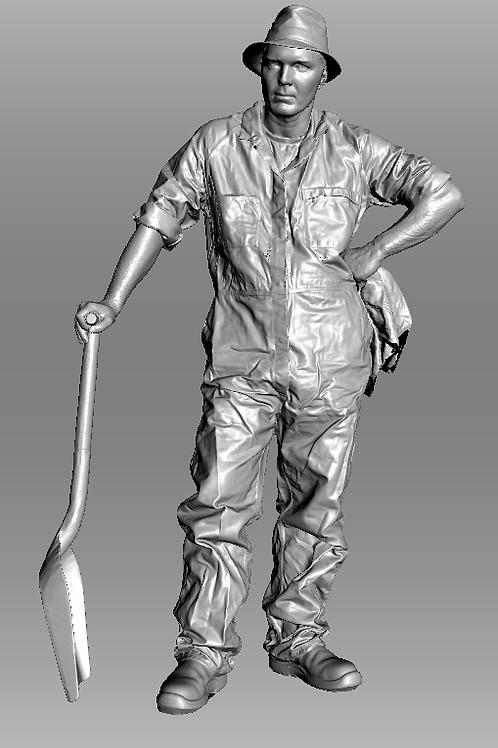 AIM-F03-048 (M) O Scale Fireman