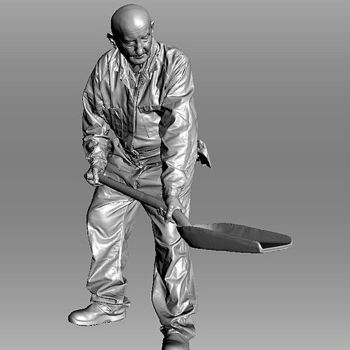 AIM-F09-048 (M) O Scale Fireman