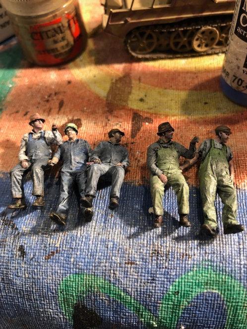 Ian Fainges Painting Service (O SCALE)