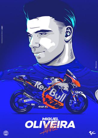 Poster Miguel Oliveira