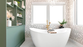 Project Reveal // Mid-Century Modern Meets New Miami Bathroom