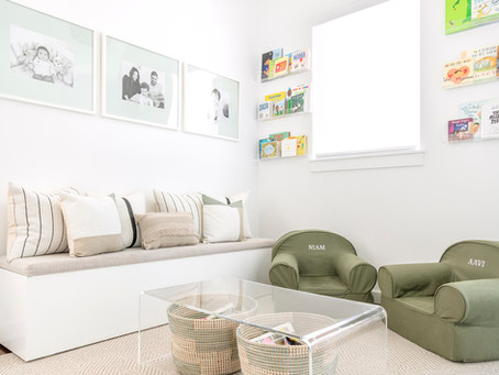 Project Reveal // California Contemporary Part 3 - The Cohesive Kid's Spaces