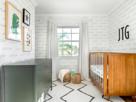 Project Reveal // Alligator Themed Baby Boy Nursery