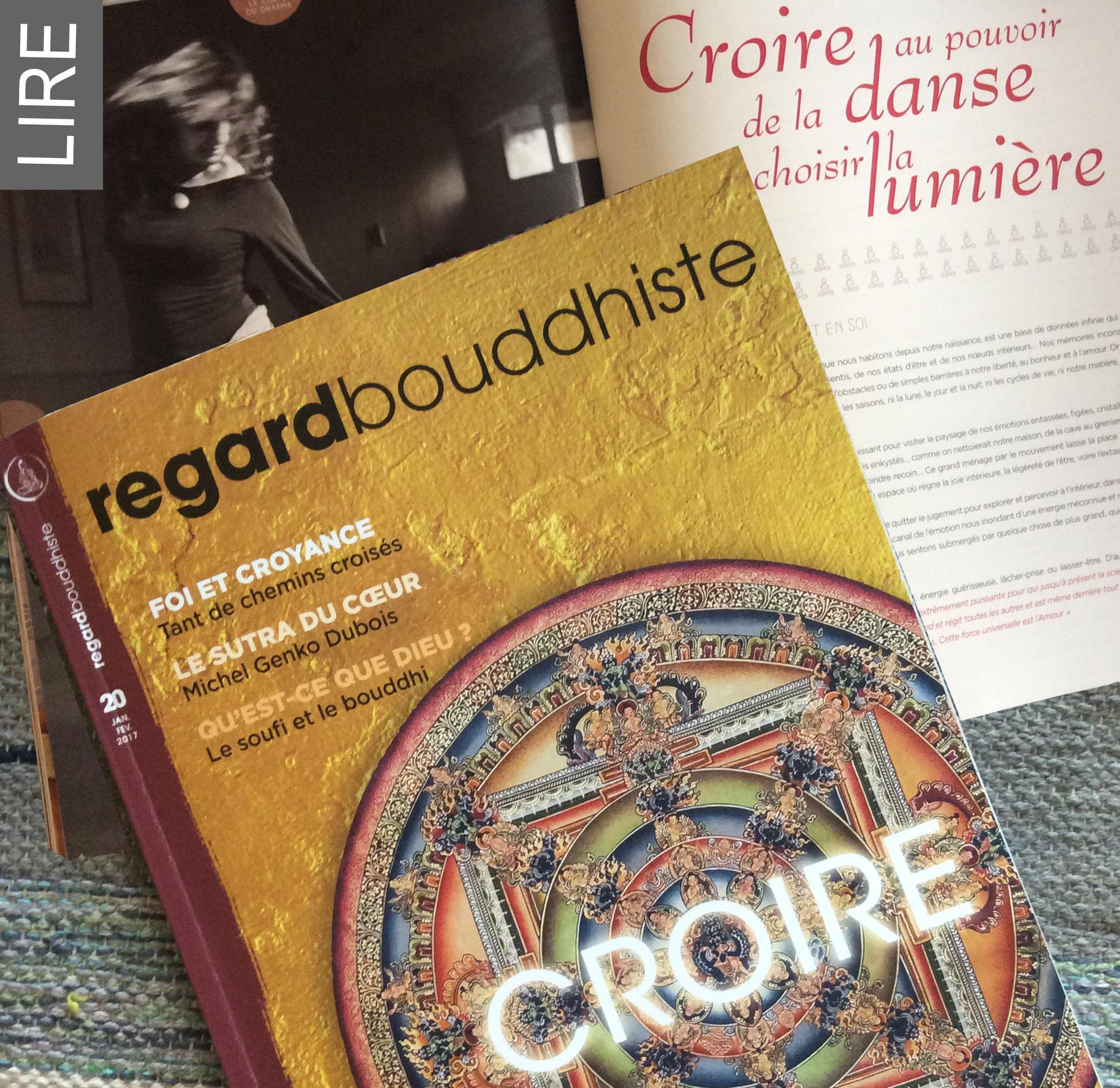 REGARD-BOUDDHISTE