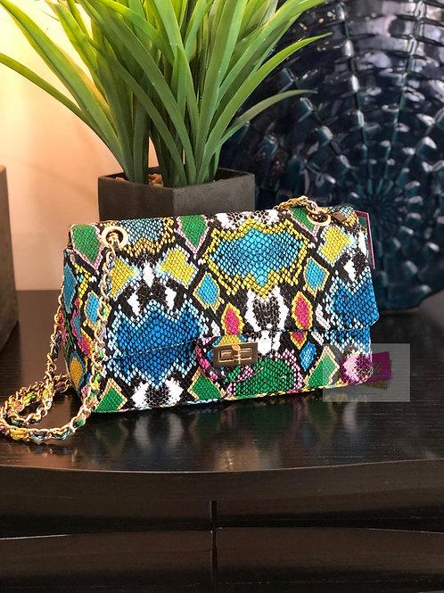 Gigi Multi Snake Chain Shoulder Bag