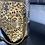 Thumbnail: Leopard Suede Gold Metallic Tote Bag