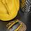 Thumbnail: Regular Size Italian Leather Drawstring Bucket Bag