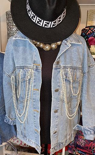 Stones & Sparkle Denim Jacket