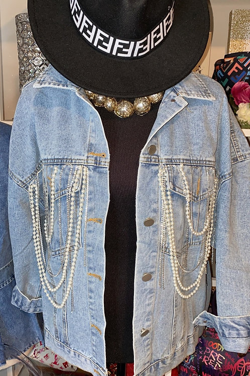 Stones & Sparkle Denim Jacket