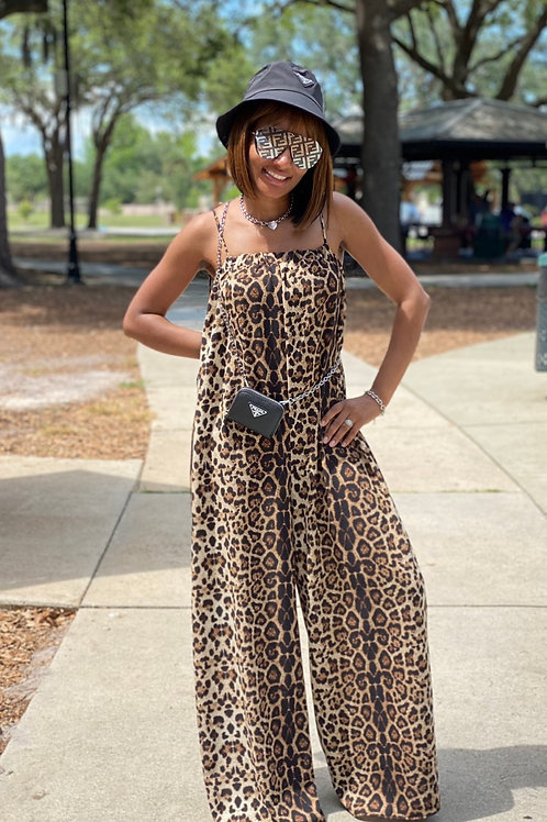 Into the Wild Cheetah Jumpsuit