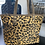 Thumbnail: Large Leopard Suede Tote Bag