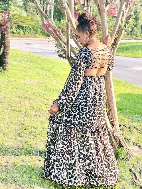 Fall in Love Forever (Sleeved Dress)
