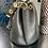 Thumbnail: Large Size Italian Leather Drawstring Bucket Bag