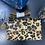 Thumbnail: Leopard Suede Crossbody Wallet Clutch