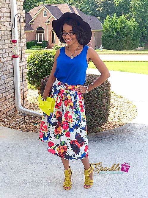Florally Yours Skirt