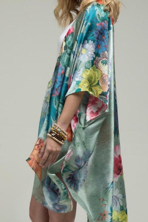 Floral Influence Kimono