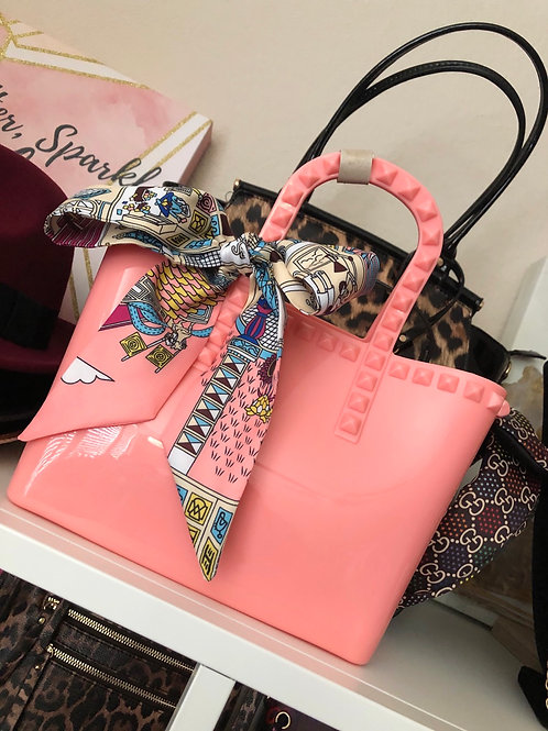 Cutesy Scarf Tote Bag
