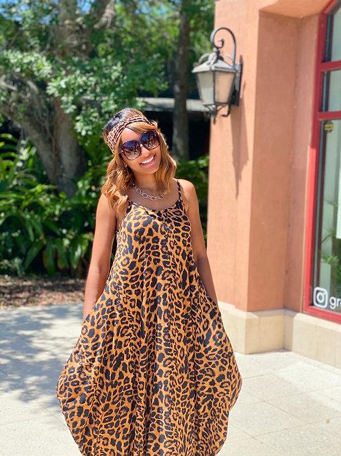 Style 1 Leopard Maxi Dress