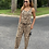 Thumbnail: Barely There Leopard Sleeveless Jumpsuit