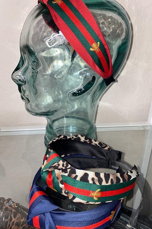 G Bee Stripe Headbands
