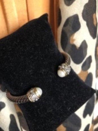 Sparkle Lux - Pearl / Stones Cuff