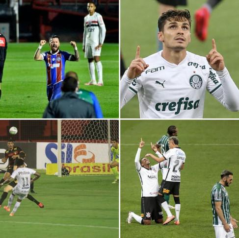 Quarta rodada do Brasileirão alegra torcedores dos clubes de São Paulo