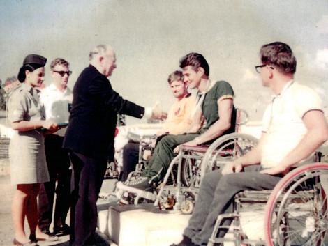 A origem das Paralimpíadas