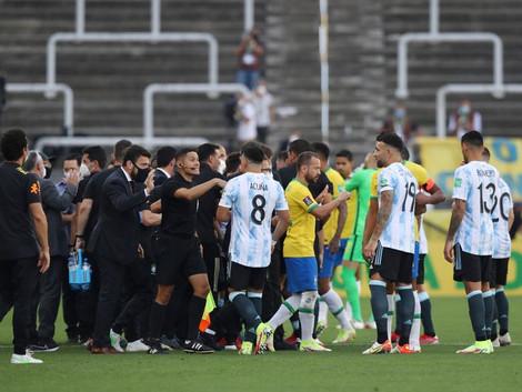 Brasil e Argentina é suspenso por violação das regras sanitárias